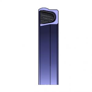LSE13 Finger Spring Seal – ID Wiper Lip