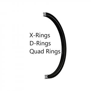 X-Rings, D-Rings, Quad Rings